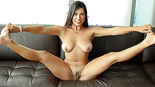 Sexy cherie throat fucking cock naked