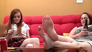 Asian Co-Workers Fuck Foot Fetish