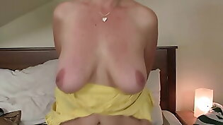 Both her boyfriend and mother gone her way is fantasies of riding cock