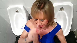 Gagging gf hungry for cock