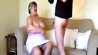 Fucked by Grandma and daughter