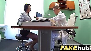 Naughty Housewives Sex With A Doctor