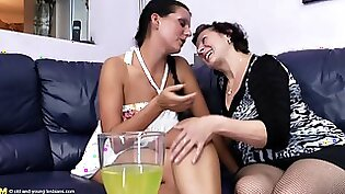 Beauty gals in sensual lesbian action