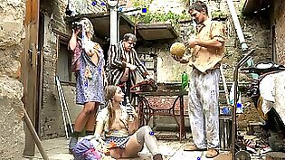 wild orgies: Cheating Nguyen Chick Family in Home Alone