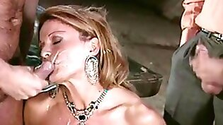 Classy eurobabe fucks with facial after tugging