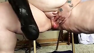 Tight pussy gapes smooth