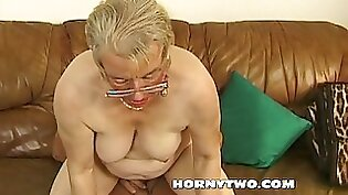 Amateur chubby granny pussy taken