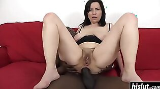 Black and white ass gets pounded