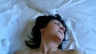 Cute Brunette Wife gets Her Tits Smashed