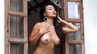 asian babe stripping down game